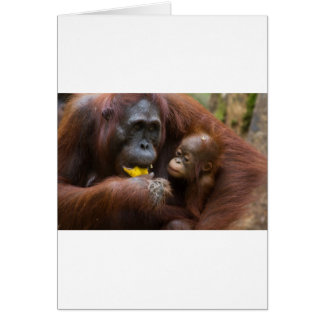 Madre e hijo tarjeta de felicitación