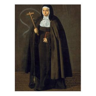 Madre Maria Jeronima de la Fuente, 1620 Postal