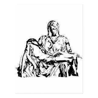 Madre Maria y Jesús de la Virgen Postal