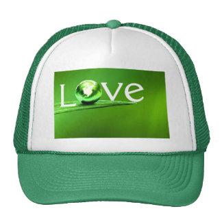 Madre tierra del amor por amor curativo gorro