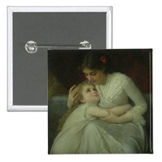 Madre y niño (aceite en lona) pin