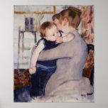 Madre y niño de Mary Cassatt Posters