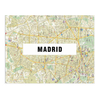 ♥ Madrid de las POSTALES del MAPA