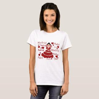 Madrid España muñeca flamenca Camiseta