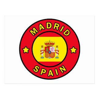 Madrid España Postal