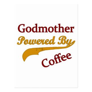 Madrina accionada por el café postal