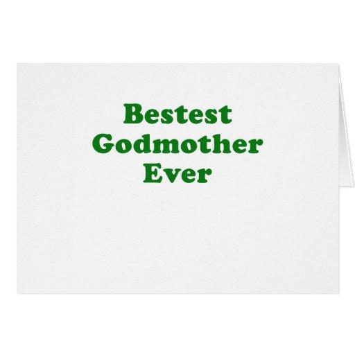 Madrina de Bestest nunca Felicitación