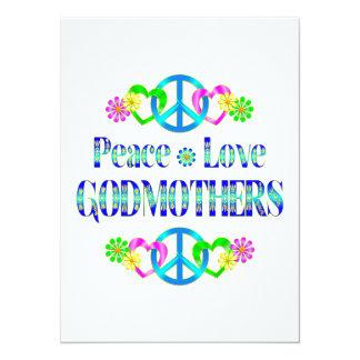 Madrinas del amor de la paz invitacion personal