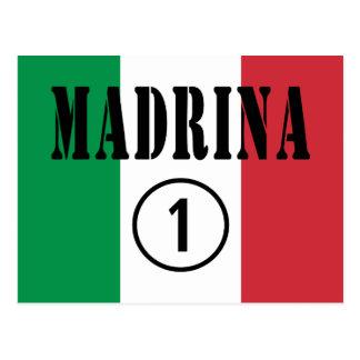 Madrinas italianas: Uno de Madrina Numero Postal