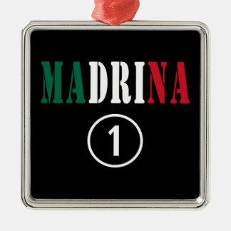 Madrinas mexicanas: Uno de Madrina Numero Ornamentos De Navidad
