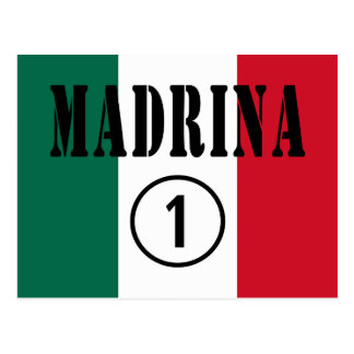 Madrinas mexicanas Uno de Madrina Numero Postal