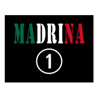 Madrinas mexicanas: Uno de Madrina Numero Tarjeta Postal