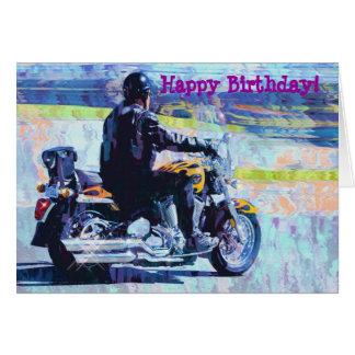 """""""Madure"""" la tarjeta de cumpleaños del motorista de"""