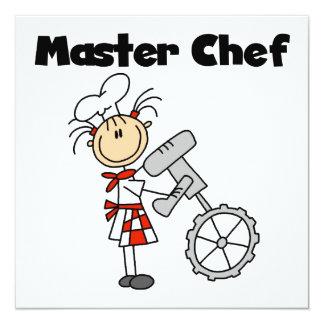 Maestro cocinero - hembra anuncio