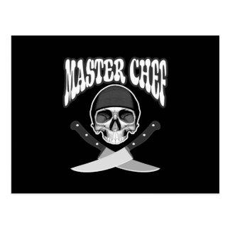 Maestro cocinero postal