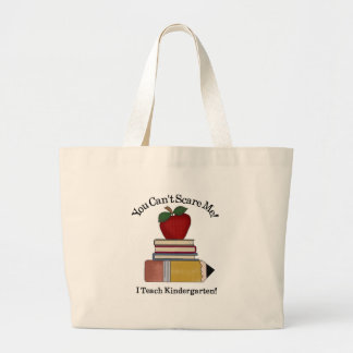 maestro de jardín de infancia bolsa tela grande