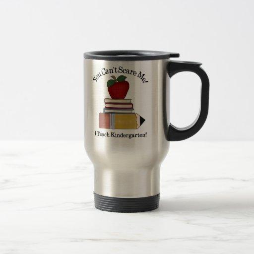 maestro de jardín de infancia taza de café