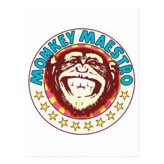 Maestro del mono postal