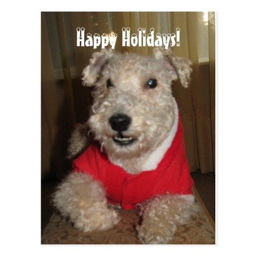 Maestro las tarjetas de Navidad de Lakeland Terrie Postal