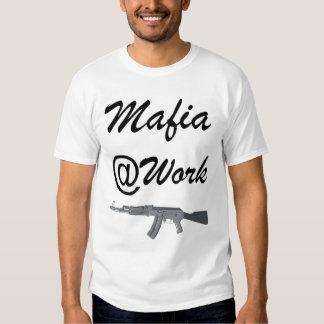 Mafia at Work Camisetas
