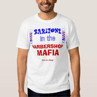 Mafia de la barbería camisas