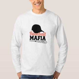 Mafia del béisbol camiseta