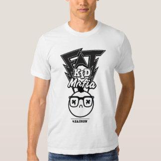 Mafia gorda del niño - la cabeza del equipo camisas