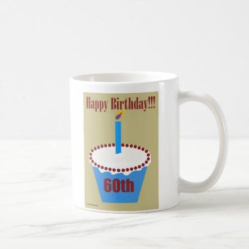 Magdalena 60.a del cumpleaños tazas de café