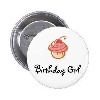 magdalena, chica del cumpleaños - modificado para  chapa redonda de 5 cm