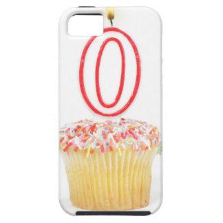 Magdalena con una vela numerada del cumpleaños iPhone 5 Case-Mate fundas