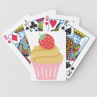Magdalena cruzada de la fresa de la puntada barajas de cartas