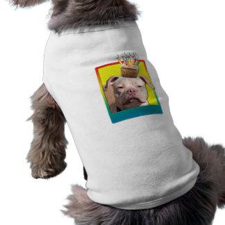 Magdalena de la invitación - Pitbull - JerseyGirl Camisas De Mascota