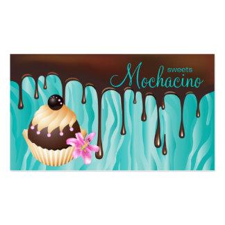 Magdalena de la panadería de la tarjeta de visita