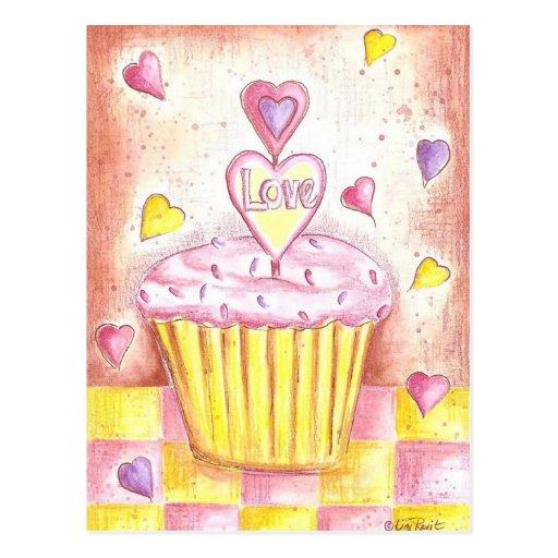 Magdalena de la tarjeta del día de San Valentín Tarjetas Postales
