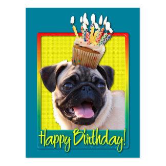 Magdalena del cumpleaños - barro amasado tarjetas postales