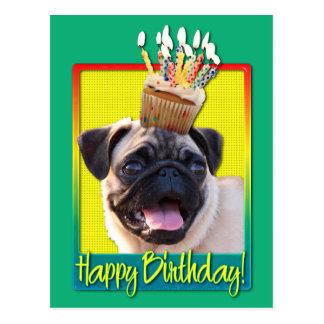 Magdalena del cumpleaños - barro amasado tarjeta postal