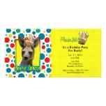 Magdalena del cumpleaños - canguro tarjeta fotográfica personalizada