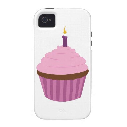 Magdalena del cumpleaños Case-Mate iPhone 4 funda