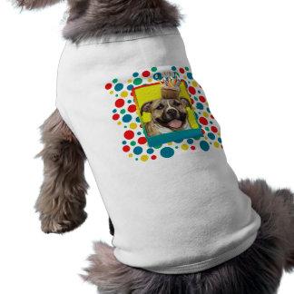 Magdalena del cumpleaños - Pitbull - Tigger Camisa De Perrito