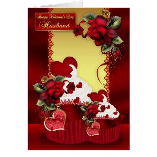 Magdalena del el día de San Valentín del marido y Tarjeta De Felicitación