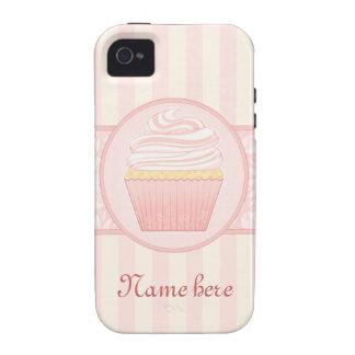 Magdalena elegante rosada dulce iPhone 4 carcasas
