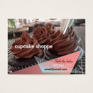 magdalenas del chocolate tarjeta de visita