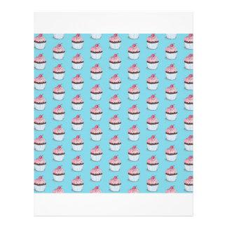 Magdalenas lindas en fondo azul folleto 21,6 x 28 cm