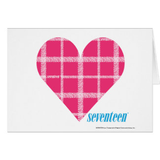Magenta 2 de la tela escocesa tarjeta