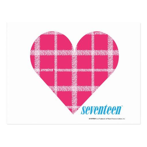 Magenta 2 de la tela escocesa postal