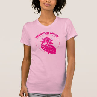Magenta de la mente de Buda Camiseta