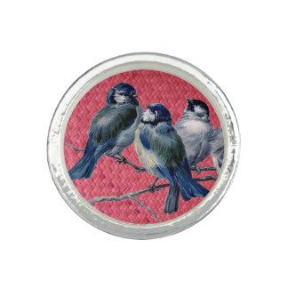 """""""Magenta tejida de Harakeke"""" - con los pájaros de Anillo Con Foto"""
