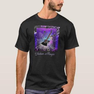 Magia de la guitarra demasiado oscura camiseta