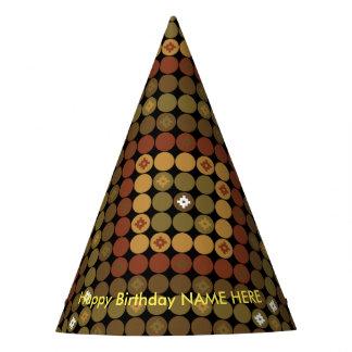 Magia del diamante de la polca del gorra del