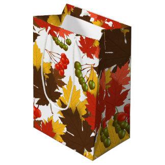 Magia del otoño bolsa de regalo mediana